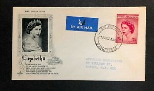 Southern Rhodesia 1953 Coronation FDC First Day cover