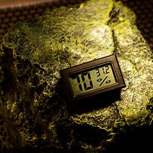Digital Thermometer and Hygrometer for Reptiles Terrarium Digital Indoor