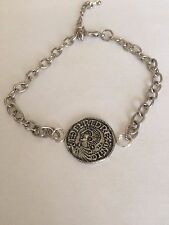Aethelred II Coin WC3 English Pewter on a Anklet / Bracelet