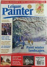 Leisure Painter UK Jan 2017 Paint Winter Landscapes Colour FREE SHIPPING sb
