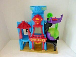 Imaginext Daily Planet Play Set Superman Building Mattel  DC Comics 2015