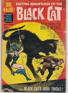 Black Cat #65 1963 Silver Age Harvey Horror comic. Giant Size Last Issue.