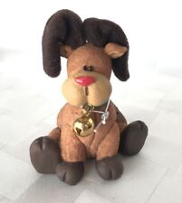 Baggy Pets Reindeer Figurine Nwt Christmas Rudolph Red Nosed Bell Ornament