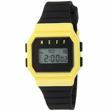 Neff Men's Flava Digital Watch Yellow/Black Timepiece Casual Good Quality
