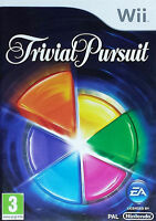 Trivial Pursuit (Nintendo Wii, 2009) Game EA PAL