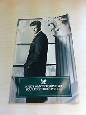 Vintage 1990 Boyd's Philadelphia Clothing Store Advertisement mailer Coupon RARE