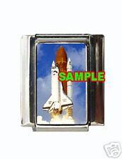 Space Shuttle #1 Custom Italian Charm Nasa liftoff cool