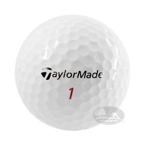4 Dozzine Taylor Made Tour Penta 48 palline da golf usate Cat. 5 Stelle (PEARL)