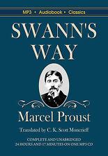 Swann's Way - Unabridged MP3 CD Audiobook in DVD case