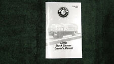 Lionel Track Cleaner 6-18461 Instructions Photocopy Modern Version Of 3927