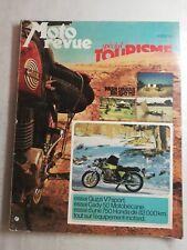 N55 Moto Revue  N°2117 24 mars 1973 Paris Dakar en 250 MZ, guzzi V7 sport