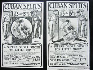 Collectible Cigar Ads Posters For Sale Ebay
