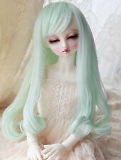 "1/3 8-9"" BJD Wig Dal Pullip SD LUTS MSD DOD DD Dollfie Doll wig Mint Hair 7"