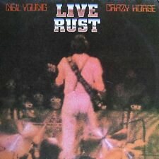 NEIL YOUNG LIVE RUST NEW SEALED VINYL 2LP REISSUE IN STOCK