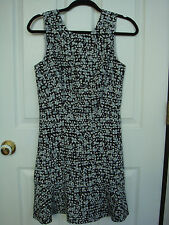BANANA REPUBLIC Factory Women Sleeveless Printed Dress Size 2 New With Tag