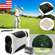 Golf Laser Range Finder Slope Compensation Angle Scan Pinseeking Club With Case