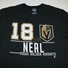 New '47 BRAND Las VEGAS GOLDEN KNIGHTS VGK NHL HOCKEY James Neal T SHIRT Mens M
