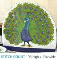 PROUD AS A PEACOCK     CROSS  STITCH   PATTERN  ONLY   ALS ES