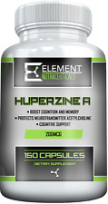HUPERZINE A (200mcg x 150ct) by Element Nutraceuticals
