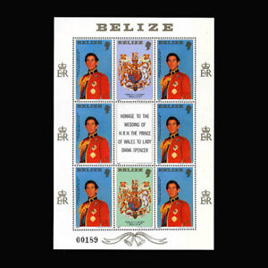 Belize, Sc #552, MNH, 1981, S/S Royalty, Prince Charles, HAI-B