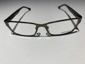 Diesel DL5014 Brown 048 Metal Eyeglasses Frame 54-16-140 New RX