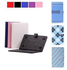 Teclado De Cuero PU Estuche Para Sony Xperia Z Z2 Z3 Tablet Reino Unido Layout