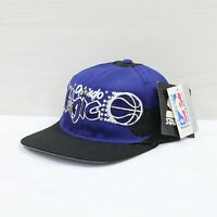 Vintage DS Orlando Magic Starter Snapback Hat Cap OSFA Blue 90s NBA