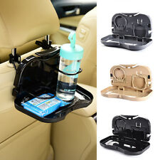 New Auto Dining Table Car Food Back Seat Folding Tray Cup Holder Drink Desk Kids