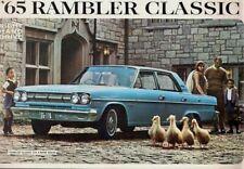 American Motors Rambler Classic 770 1964-65 UK Market Foldout Sales Brochure