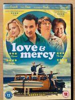 Love and Mercy DVD 2015 True Life Brian Wilson Beach Boys Biopic Movie Drama