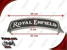 ROYAL ENFIELD CUSTOMIZED HI QUALITY FRONT MUDGUARD ALLOY BRAND NEW NUMBER PLATE