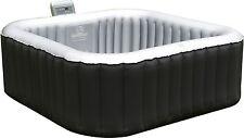 Whirlpool für 4 Personen aufblasbar Indoor Outdoor Jacuzzi Massage Pool Heizung