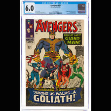CGC FN 6.0 White pages (Marvel, 1966) The Avengers #28