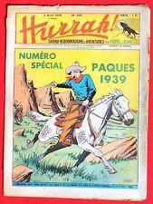 HURRAH n° 200 du 2 AVRIL 1939 - Brick Bradford. LE RALLIC - spécial Pâques.