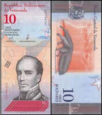 Venezuela 10 Bolivares 2018 (Gem UNC) 委内瑞拉 10玻利瓦尔 D01966826