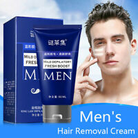 Men Hair Removal Cream Depilatory For Chest Back Legs Arms Mild.Growth.Inhibitor
