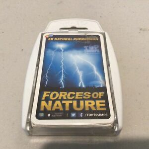 """2018 Top Trumps. 30 Natural Phenomena """"Forces of Nature"""" #417"""