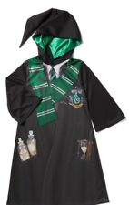 Harry Potter Serpeverde Robe Costume Dress Up Libro Giorno Completo Età 11/12 anni