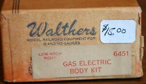 Gas Electric Body Kit  Walthers # 6451  HO