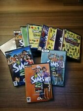 PC CD ROM SIMS GAMES