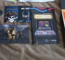 Lootcrate lot T-shirt Guardian of the Galaxy, Assassins Creed, mario slapwatch