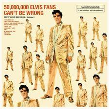 ELVIS PRESLEY 50,000,000 ELVIS FANS CAN'T BE WRONG VINILE LP 180 GRAMMI NUOVO !!