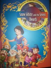 SNOW WHITE & THE SEVEN DWARFS BOOK & CD INTERACTIVE ACTIVITIES & PUZZLE   1X799