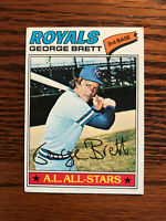 1977 Topps #580 George Brett Baseball Card Kansas City Royals HOF Raw