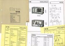 Mende Röhrenradio 151 BL ORIGINAL Schaltplan und mehr 1936-37 - kompletter Satz