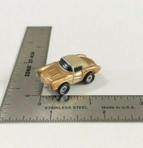 Micro Machines 1986 Galoob '57 Gold Chevrolet Corvette Coupe