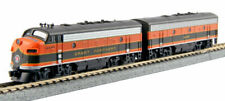 Kato N Scale F7A F7B Locomotive Set GN #444C/444D DC DCC Ready 1060421