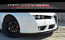 Cup Spoilerlippe CARBON  für Alfa Romeo Brera Bj. 05-10 Front Lippe Schwert ABS