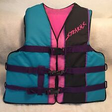 STEARNS Youth Long Life Vest Jacket Flotation Aid Type III PFD Chest Size 26-29""