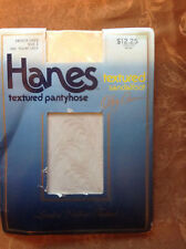 exciting! Vintage Hanes textured olga cassini french linen pantyhose size 1